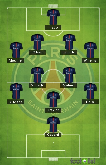 PSG 2017 2018 By Psgstory Footalist