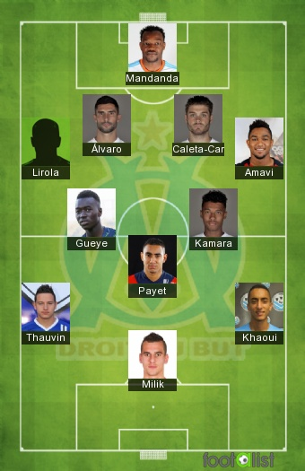 Olympique Marseille 2020-2021 - Best XI