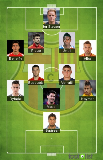 Barcelona Fc Foto >> compo 2017-2018 by messicrack :: footalist