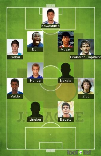 Légendes du Championnat Japonais par VladKim13 :: footalist