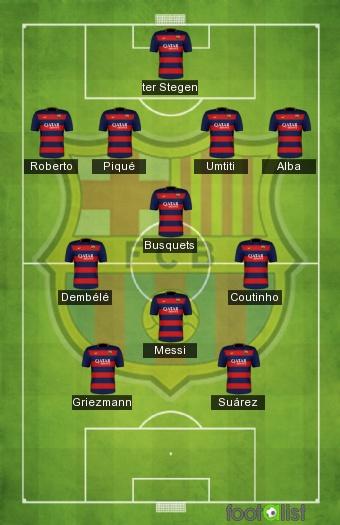 FC par footalist :: 2018-2019 Jaardel771 Barcelone