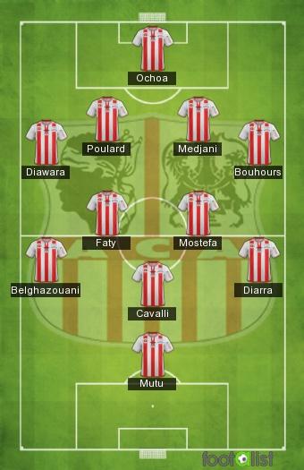 AC Ajaccio équipe type 2012