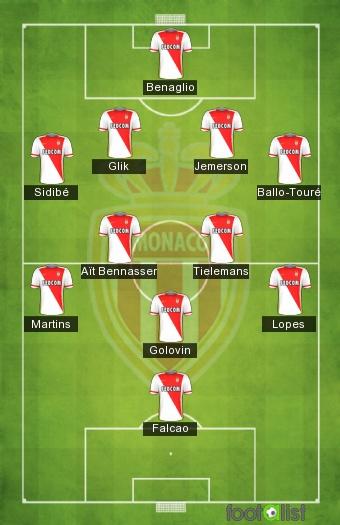 Monaco équipe type 2018