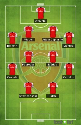 Les Espagnols d'Arsenal
