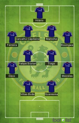 Les Portugais de Chelsea