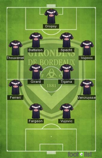 Bordeaux équipe type 1986