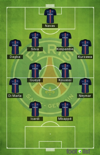 Monaco - PSG 15/01