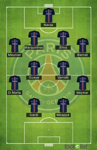 PSG - Monaco 12/01