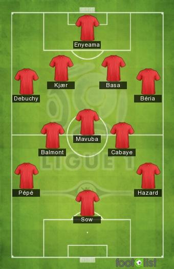 Equipe type 2010-2020