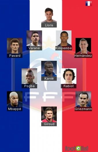 France national footall team best XL