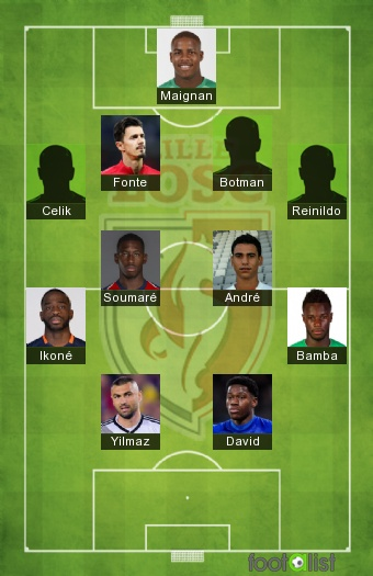 Lille 2020-2021 - Equipe-type