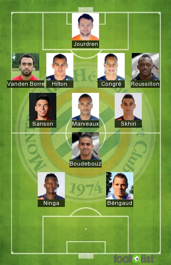 Montpellier 2016-2017 Best XI