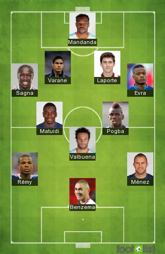 Equipe De France Portugal By Purito 2014 Footalist