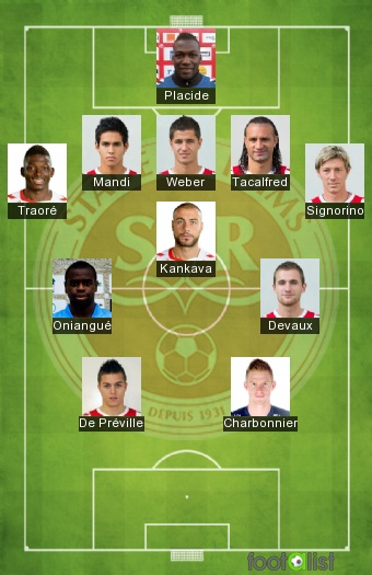 Reims 2016-2017 Best XI