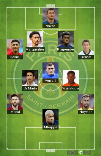 Psg 2020 2021 Best Xi Footalist