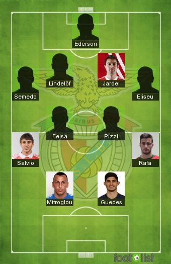 Benfica Lisbonne 2016-2017 Equipe-type