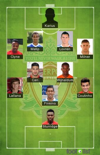 Liverpool 2016-2017 Equipe-type