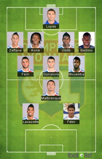 Lyon 2014 2015 1 8 finale coupe de la ligue par saillier footalist - Coupe de la ligue finale 2015 ...
