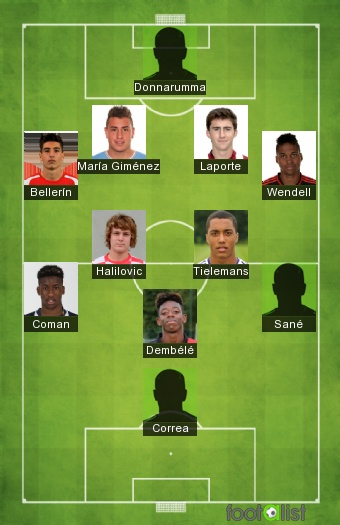 Ousmane Dembelé - FIFA 16 - Player